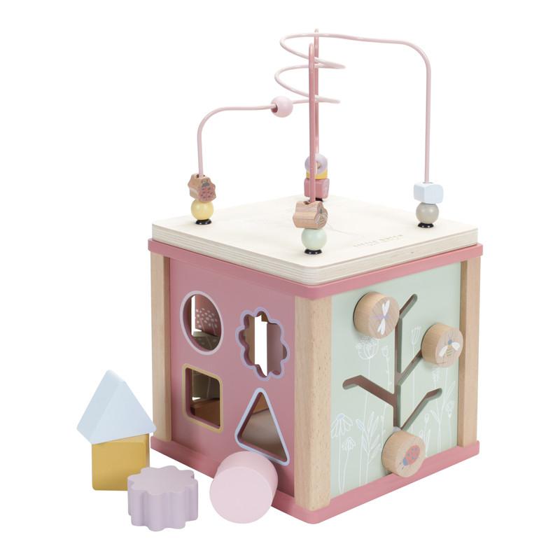 Cube d'éveil Little Dutch couleur Rose