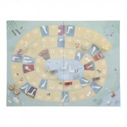 plateau de jeu de l'oie de chez Little Dutch-detail