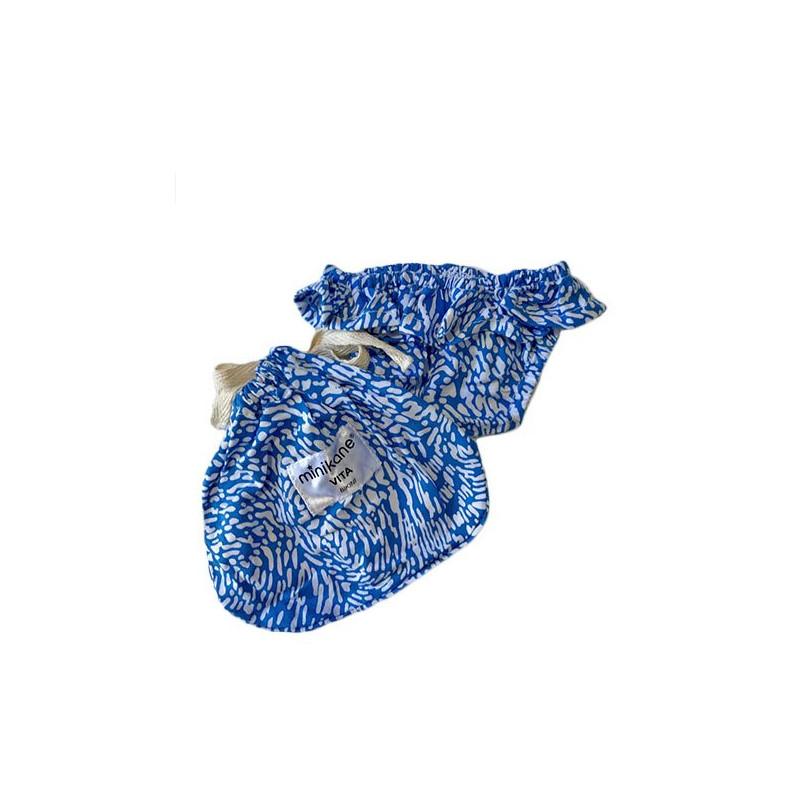 Bikini bleu pour poupée 34cm
