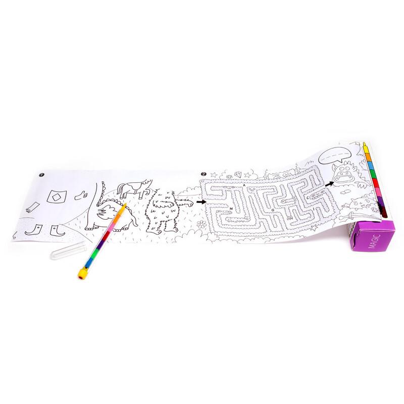 mètre de coloriage pour enfants de chez OMY