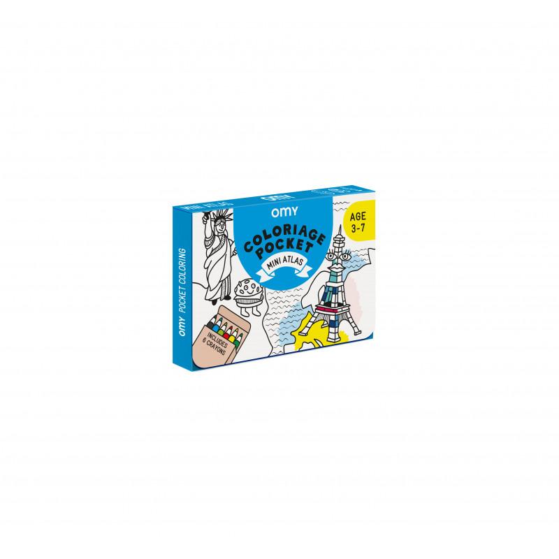 Kit de coloriage Mini Atlas de OMY