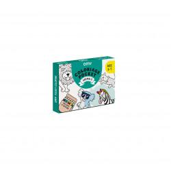 kit de coloriage animaux de chez omy-detail