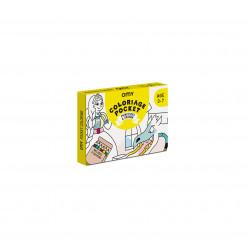 Kit de coloriage princesses d chez OMY-detail