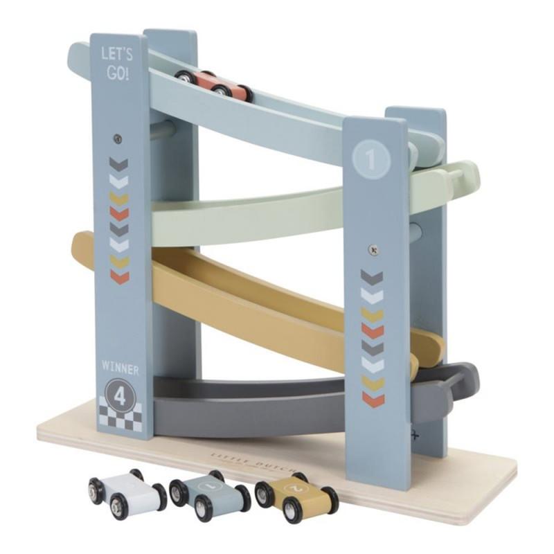 rampe de course en bois little dutch