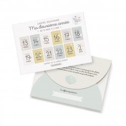 kit 12 cartes pour naissance zu-detail