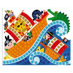 Mosaiques pirates enfants-detail