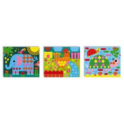 Mosaique animaux Janod-detail
