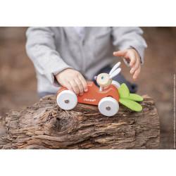 Voiture en bois pour enfant-detail