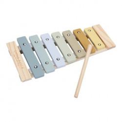 xylophone bleu Little dutch-detail