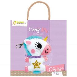 Mini couz'in, Oliympe la licorne-detail