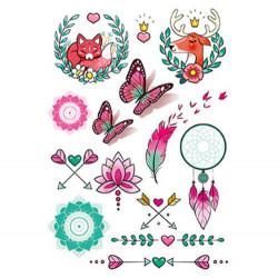 Plaquette tatouages enfants-detail