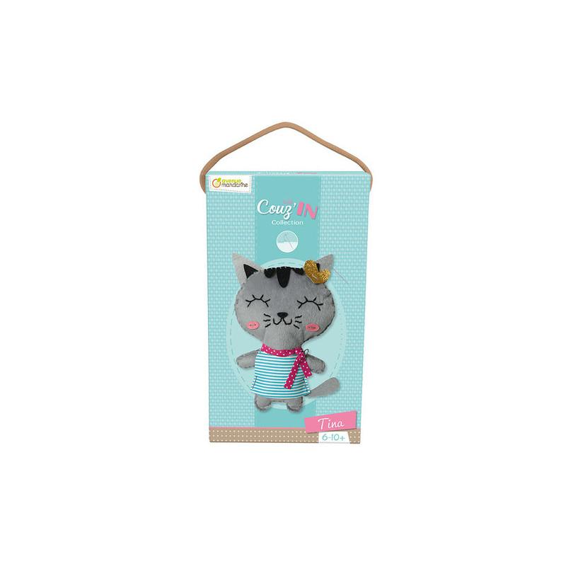 Little couz'in Tina le chat Avenue Mandarine