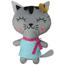 Création couture enfants chat avenue mandarine-detail