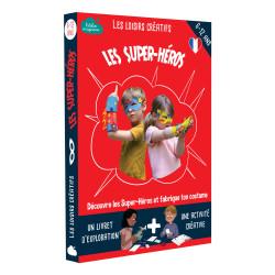 Kit créatif les super-héros l'atelier imaginaire-detail