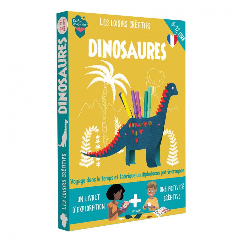 Loisirs créatifs dinosaures de l'atelier imaginaire