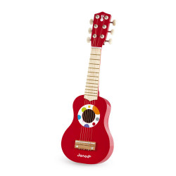 Guitare en bois pour enfant-detail