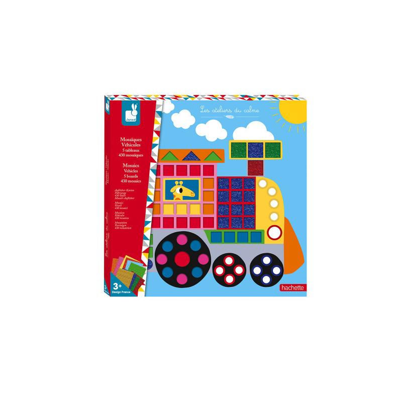 Kit créatif - mosaïque et gommettes de la marque Janod