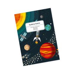 Puzzle de 100 pièces pour apprendre et découvrir le système solaire en s'amusant-detail