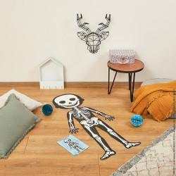 set de 4 puzzles de 50 à 100 pièces sur le corps humain-detail